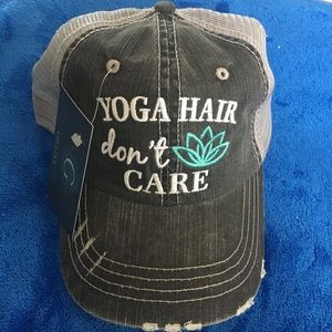 Accessories - Yoga Hair Don't Care Baseball Cap Hat